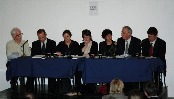 Climate change political panel