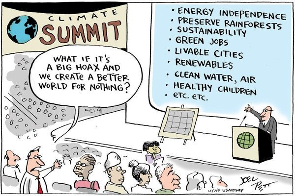 big hoax cartoon